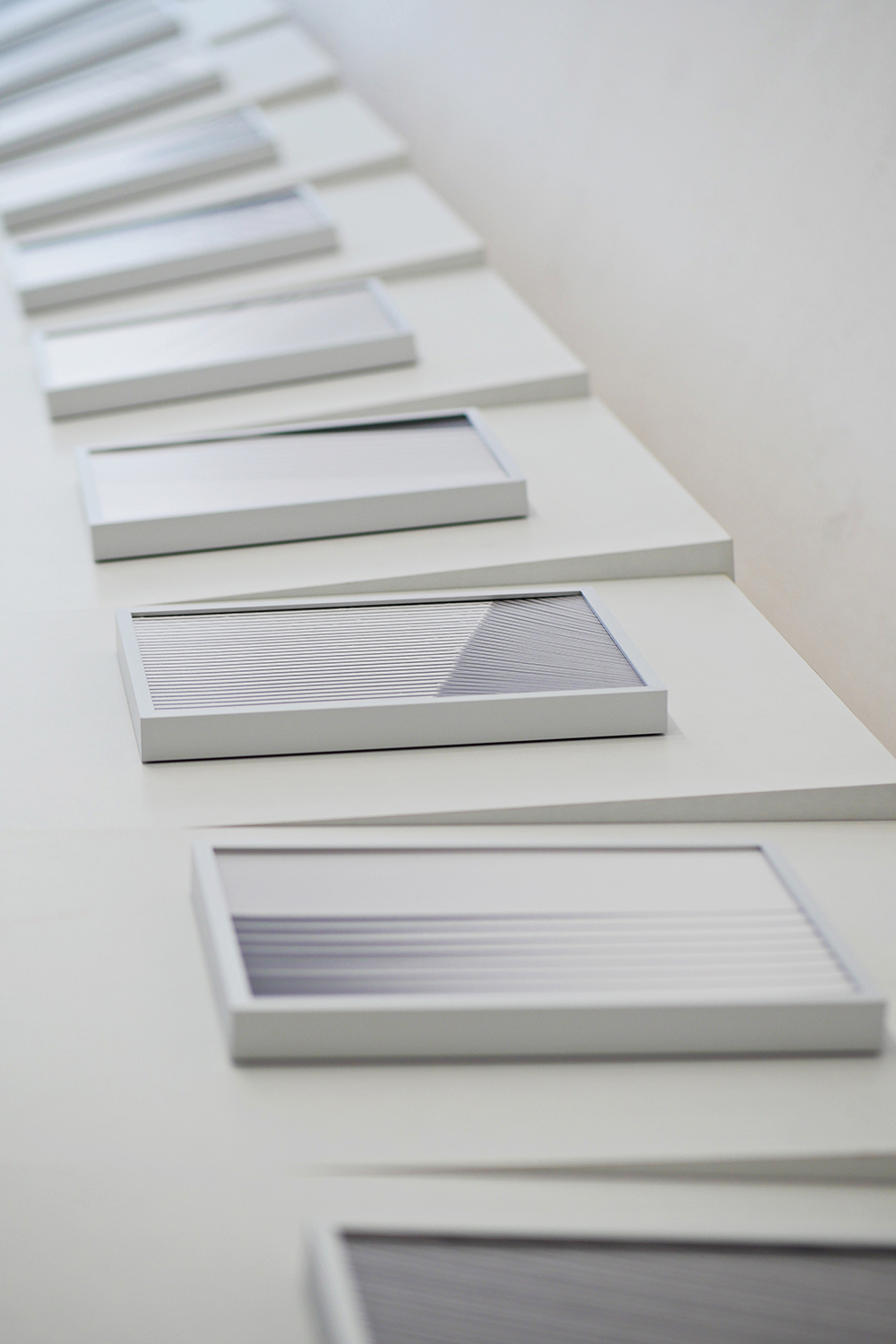 Exhibition View: Kyoungtae Kim. 'Serial Compositions', 2021. einBuch.haus